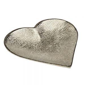 Aluminium Large Heart Dish