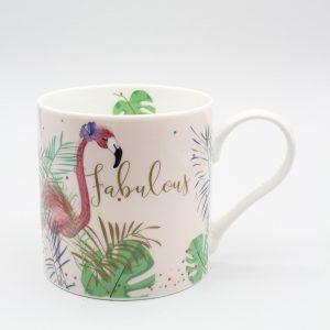 Belly Button Designs Fabulous Flamingo Mug
