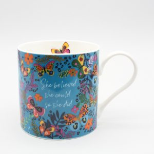 Belly Button Designs 'She Believed She Could' Mug