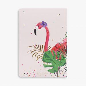 Belly Button Designs Flamingo Notebook