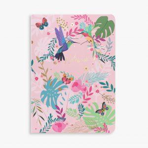 Belly Button Designs Hummingbird Notebook