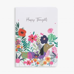 Belly Button Designs 'Happy Thoughts' Notebook