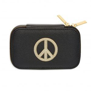 Mini Jewellery Box With Peace Sign
