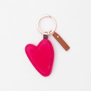Pink Velvet Keyring