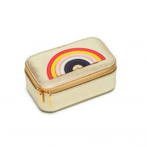 Mini Jewellery Box With Rainbow