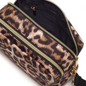 Leopard Print Holland Crossbody Bag