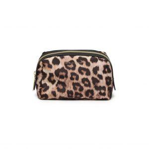 Leopard Print Makeup Pouch