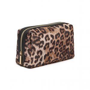Leopard Print Travel Toiletries Bag- Bigger Size