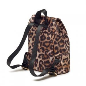 Leopard Print Copperfield Backpack