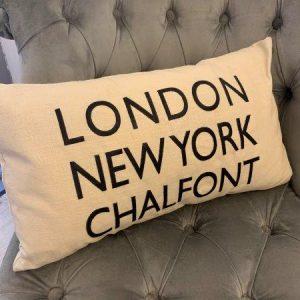 LDN, NY, Chalfont Cushion