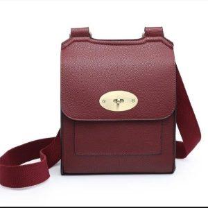 Messenger bag wine
