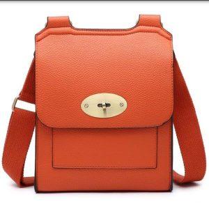 Messenger bag burnt orange
