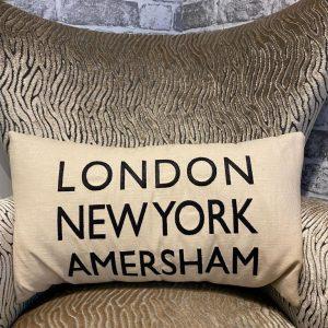 LDN, NY, Amersham Cushion Cream