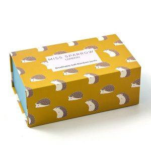 Hedgehog Socks Box