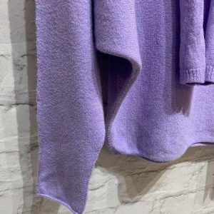 Purple/ lilac jumper with scarf