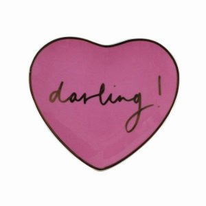 Darling!Heart trinket dish Rose