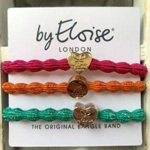Colour pop bangle band gift set