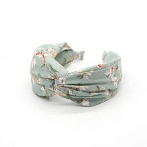 Aqua fabric headband