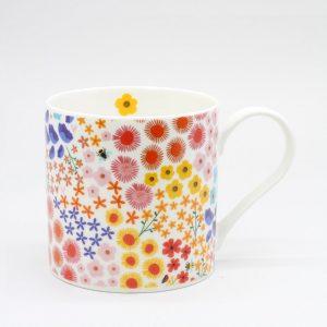 Belly Button Designs Flower Bomb Mug