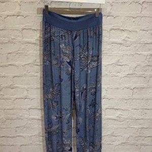 Harem pants denim blue
