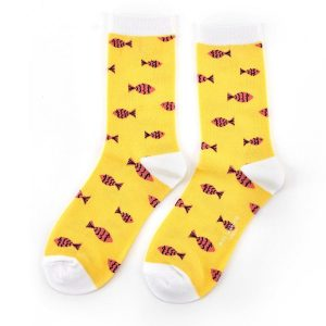 Little Fish Socks Yellow