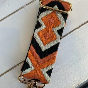 Bag strap Aztec orange