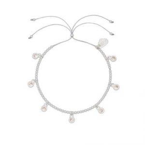 Estella Bartlett multi CZ droplets louise bracelet