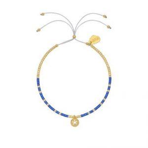 Estella Bartlett polaris star beaded louise bracelet