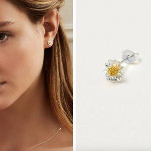 Estella Bartlett Mini wildflower earrings