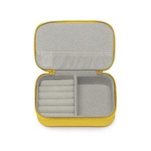 Estella Bartlett Happy thoughts yellow mini jewellery box