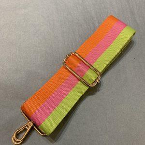Bag strap orange stripe