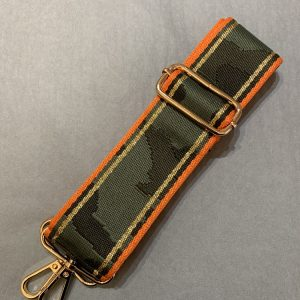 Bag strap orange camo