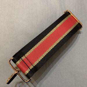 Bag strap red stripe