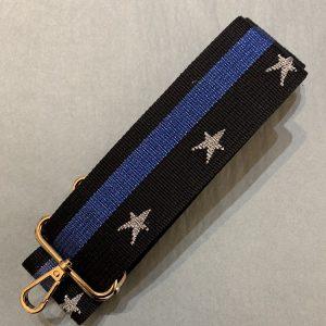 Bag strap blue star