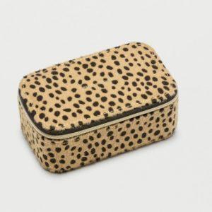 Cheetah Mini Jewellery Box