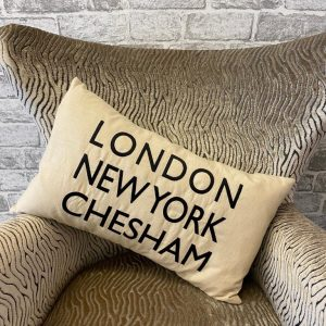 Chesham cream cushion