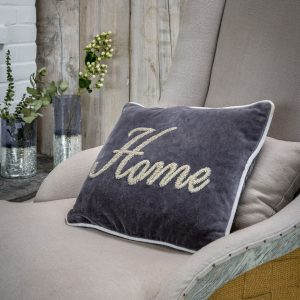 HOME velvet cushion