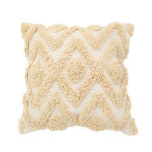 Blanca tufted diamond cushion