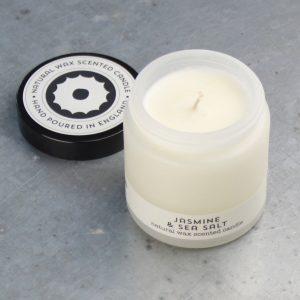 Jasmine & sea salt travel candle