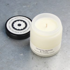 Sandlewood & Oud travel candle